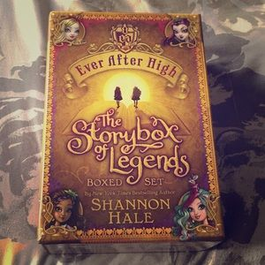 Ever after high book set of 3